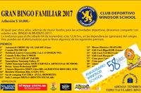 Club Deportivo Windsor School Valdivia invita a  Gran Bingo Familiar 2017